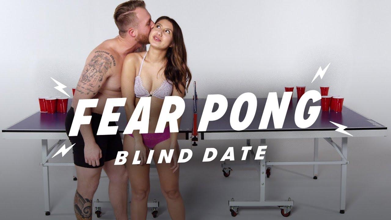 Blind Dates Play Fear Pong (Christian vs. Ren)