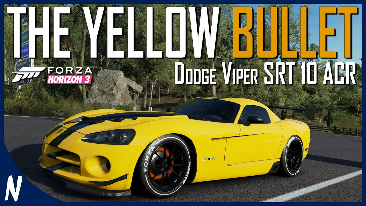Dodge car tuning part 3 - Dodge Viper Srt10 Acr Forza Horizon 3 Best S2 Tuning Guide