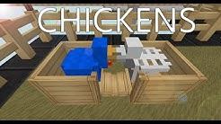 CHICKENS MOD / Hatchery - alles was Du wissen musst [Minecraft Tutorial]