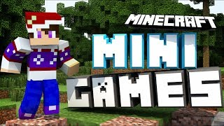 MINECRAFT 💜 MINI-GAMES STREAM (Subscriber goal 310) streaming cause i