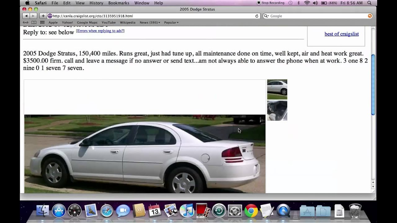 Craigslist Central Louisiana Used Cars for Sale by Owner - Lowest Prices in  July 2012