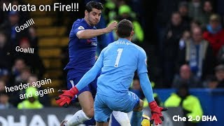 Chelsea vs Brighton 2-0 goals highlight #boxingday | 26/12/2017