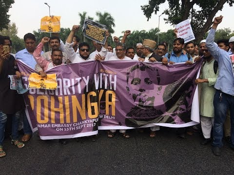 Rohingya Crisis: Solidarity Protest Demonstration in Delhi