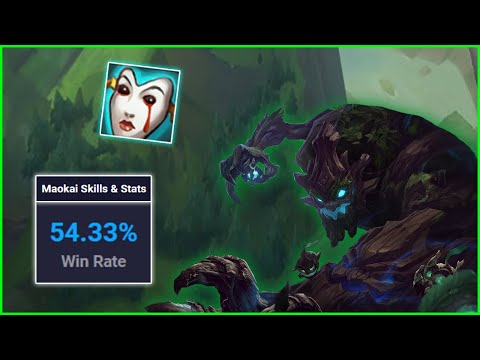 Why AP Maokai Support Has The Highest Winrate In Korea High Elo