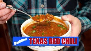 Worlds-Best Texas Red Chili - WITH BEANS!!!!