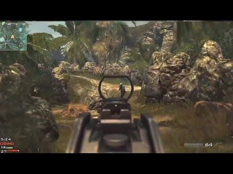 MW3 Multiplayer Gameplay: UMP Kill...