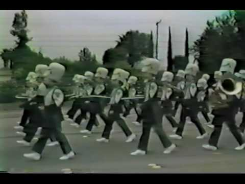 1989 Thousand Oaks High School Lancer Band and Colorguard Highlights Video
