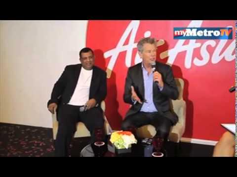 David Foster duta global AirAsia baru