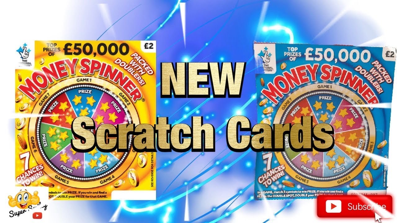 ⭐️ ⭐️ NEW £2 Money Spinner Scratch Cards ⭐️ ⭐️