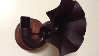 BUILD: Victrola Style Passive Speaker
