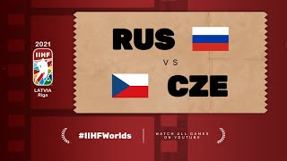 Russia – Czech Republic | Live | Group A | 2021 IIHF Ice Hockey World Championship
