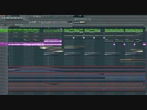 FL STUDIO 10 - Nicky Romero TOULOUSE (Krekr's Trap Remix)