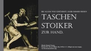 Hilfreiche stoische Zitate - Zitate der Stoiker - Stoa Philosophie