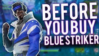 Fortnite Before You Buy: Epic Blue Striker Skin! Review