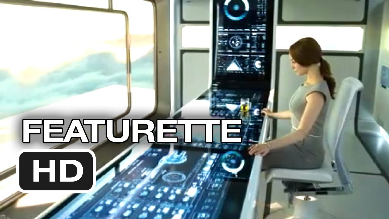 oblivion featurette - sky tower (2013) - tom cruise, morgan freeman