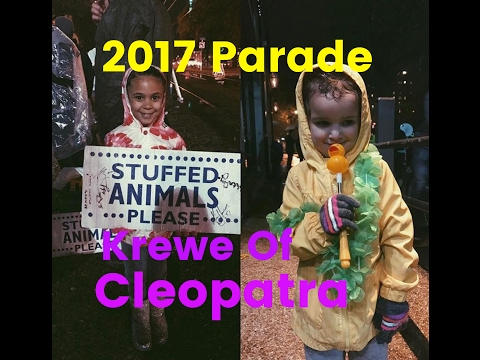 2017 Krewe of Cleopatra Parade New Orleans Mardi Gras