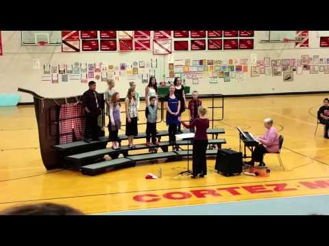 Cortez Middle School choir