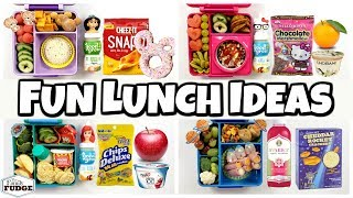 FUN and EASY Lunch Ideas 🍎 Letting YOU CHOOSE our lunch
