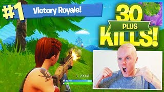 Our HIGHEST KILL SQUAD GAME EVER on FORTNITE BATTLE ROYALE
