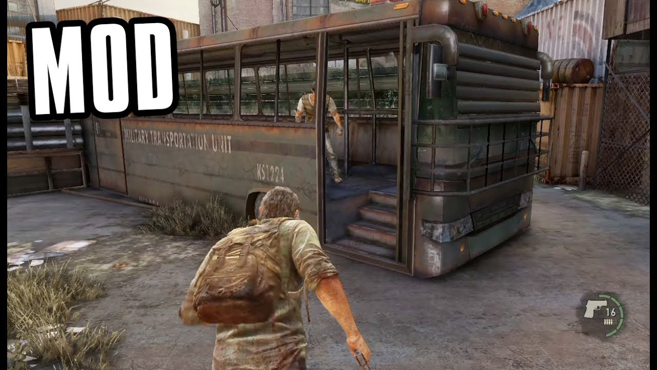 Fighting NPCs On A Multiplayer Map The Last Of Us Mod YouTube - Best map in multiplayer last of us