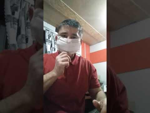 Маска для лица противовирусная