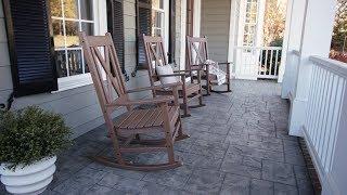 POLYWOOD® Braxton Porch Rocking Chair - R180
