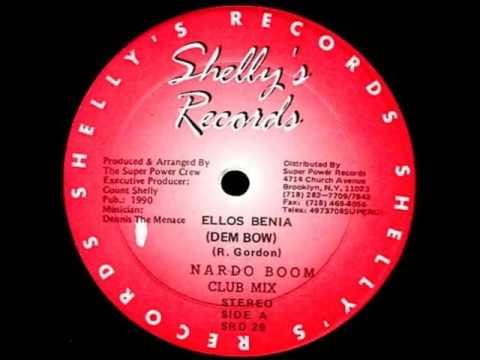 Ellos Benia Dem Bow Instrumental Nando Boom 1990