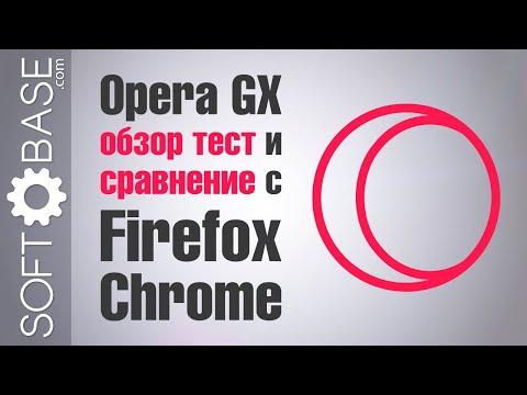Opera GX - обзор, тест и сравнение с Firefox и Chrome