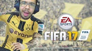 DEMO DO FIFA 17 PELA PRIMEIRA VEZ. OS PENALTI TÃO LOCO D+