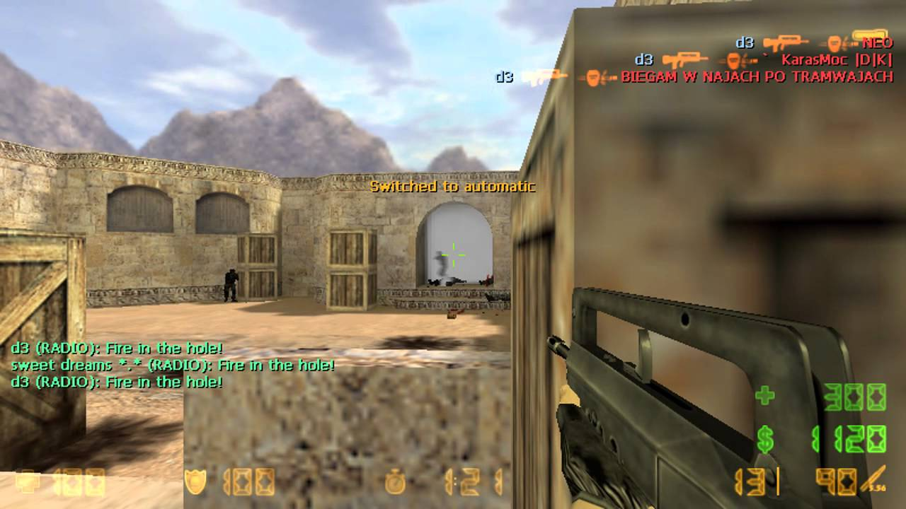 Cs 1. 6 & gta: counter-strike 1. 6 n0thing with new aim cfg.