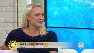 """Sarah Sjöström: """"Hade inte räknat med så här många världsrekord"""" - Nyhetsmorgon (TV4)"""