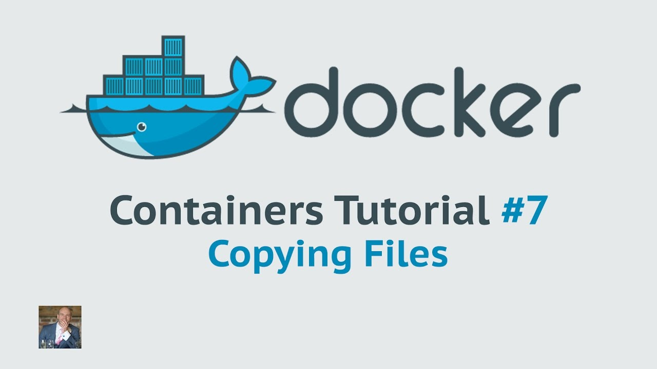 Docker Container Tutorial #7 Copy Files From A Container