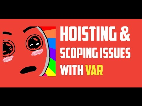 Hoisting  in JavaScript and function scope issues with keyword var