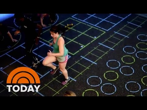 Lilliana Vazquez Tries Trendy Workouts: Hip-Hop Yoga And Video Game Workout | TODAY