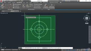 Tutoriel AutoCAD 2019 : Appliquer automatiquement des contraintes géométriques | video2brain.com