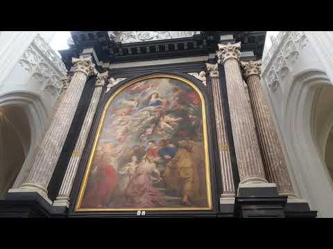アントワープ聖母大聖堂3 ルーベンスの画 聖母被昇天 Cathedral of Our Lady Antwerpen