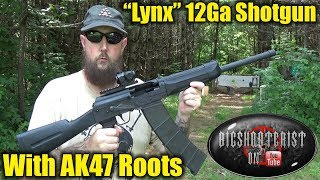 SDS 12 Gauge Lynx Shotgun