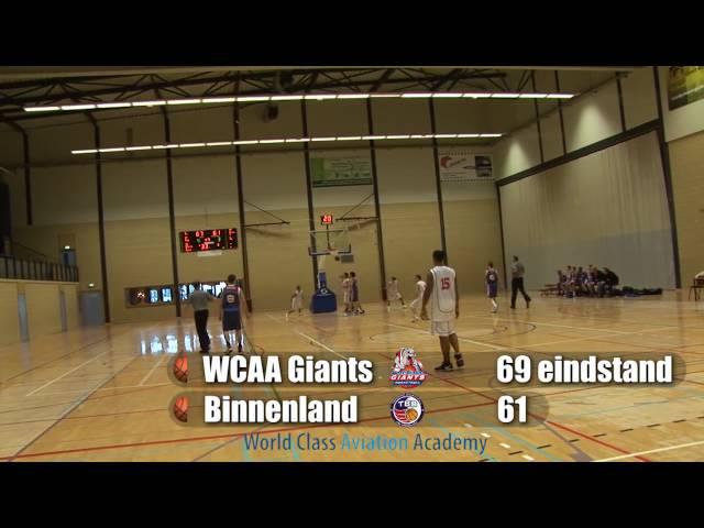 Giants U20 vs Binnenland beker