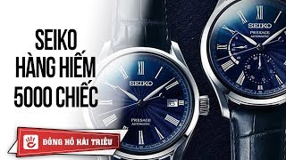 Review đồng hồ nam Seiko Presage Limited | Mặt số tráng men sứ Shippo chỉ 2500 chiếc