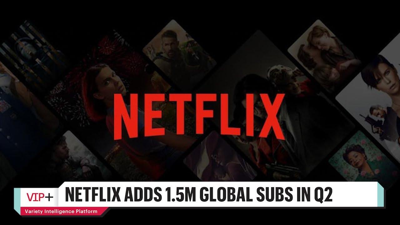 Netflix Stock Rises Following Q2 Earnings Announcement