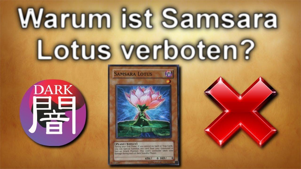 Yu-Gi-Oh!   Warum ist Samsaralotus verboten? - YouTube