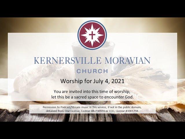 July 4, 2021 - Sixth Sunday after Pentecost