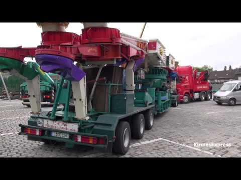 Circus-Circus (Bruch-Gründler) - Oberhausen-Sterkrade 2013 (Transport/Aufbau)