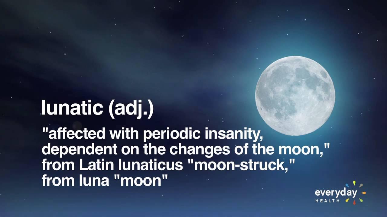Don't Blame the Full Moon for Crazy Behavior - YouTube