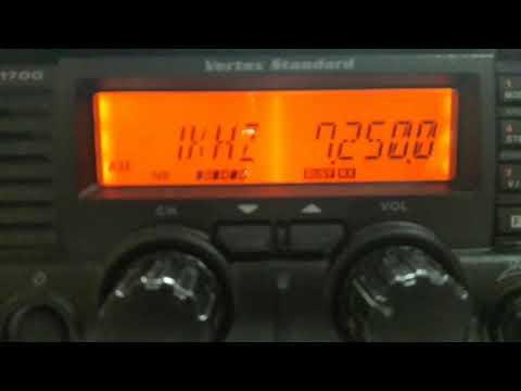 China Radio International 7250 kHz