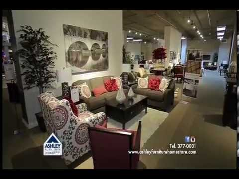 Ashley Furniture HomeStore Panamá. Casa Ideal - YouTube