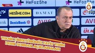 Teknik Direktörümüz Fatih Terim'in Derbi Sonrasında Yaptığı Açıklamalar - Galatasaray