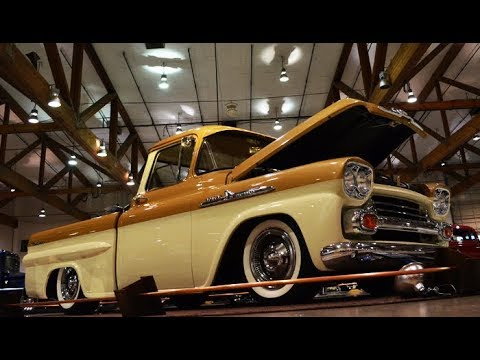 1958 Chevrolet Apache Fleetside Interview with Jacob Lusk at the Salem Roadster Show