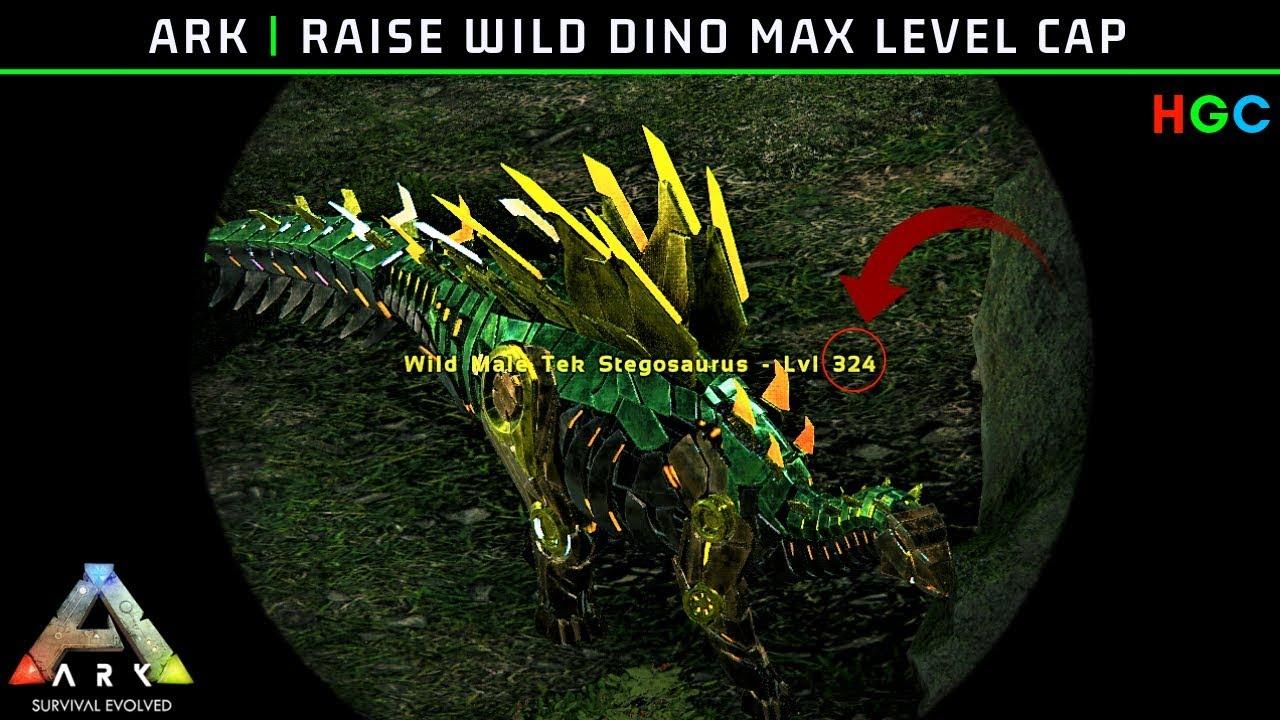 Ark: Raise Wild Dino Max Level Cap (PC/Steam)