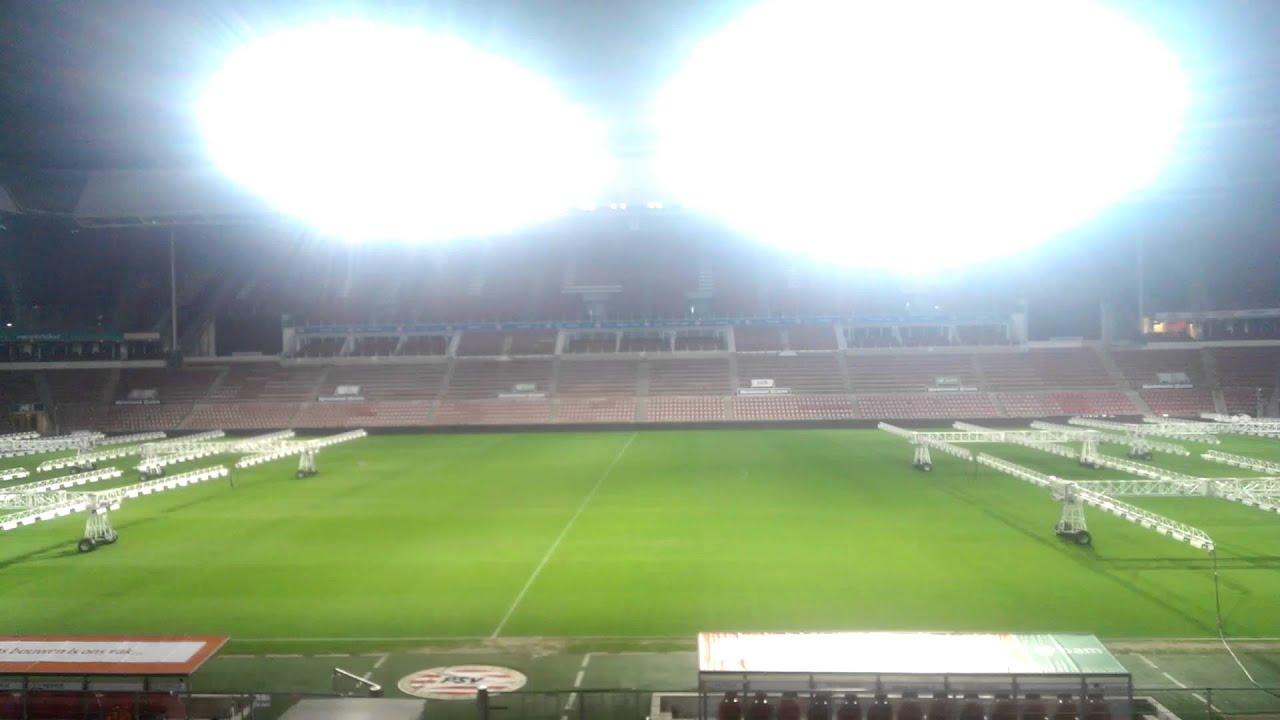 PSV Stadium Philips Arena Vision LED Lighting Show